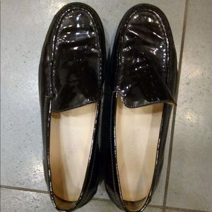 Tod's patent leather loafers 37.5